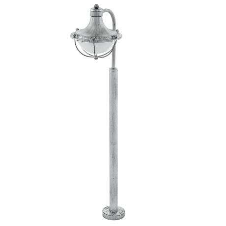 Venkovní stojací lampa, stříbrná patina MONASTERIO 95979