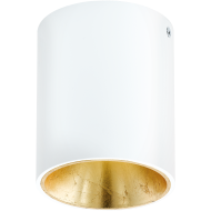 LED stropní osvětlení bílé a zlaté POLASSO 94503