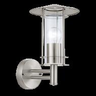 Venkovní lucerna nástěnná nerezová ocel LISIO