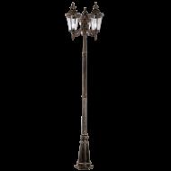 Vysoká stojací lampa s lucerničkami URBINO