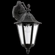 Nástěnná lampa / lucerna patina NAVEDO