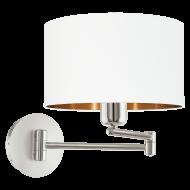 Nástěnná lampa s kloubem PASTERI 95058