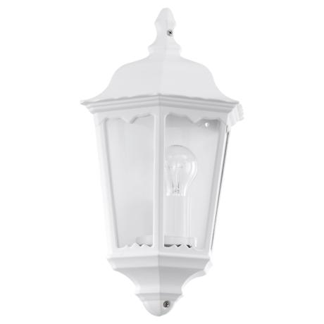 Nástěnná lampa / lucerna bílá NAVEDO