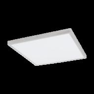 Čtvercové stropní LED svítidlo FUEVA 1 97553 s délkou stran 60 cm