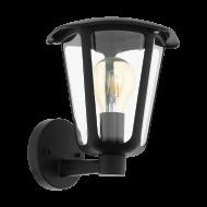 Nástěnná venkovní lucerna MONREALE 98119, černá