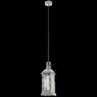Závěsná lucerna na žárovku LISBURN 1 49216