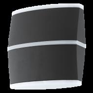Venkovní nástěnné LED osvětlení, antracitové PERAFITA 96007