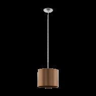 Závěsné svítidlo - hnědé SAGANTO 1 39355