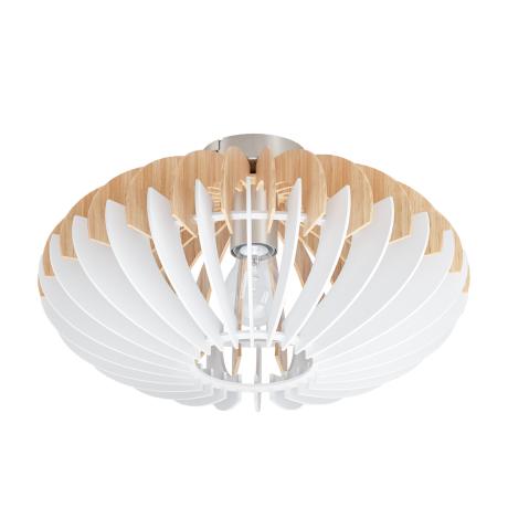 Stropní svítidlo s dřevěným stínítkem SOTOS 96961
