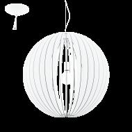 Závěsný lustr s dřevěnou konstrukcí COSSANO 94441