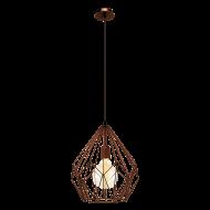 Svítidlo závěsné drátěné / lustr CARLTON 49258
