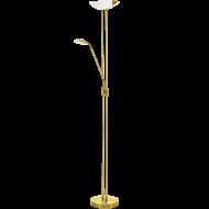 Stojací lampa pokojová stmívatelná  mosaz BAYA LED 93877