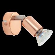 Stropní bodové osvětlení v mědi LED BUZZ-COPPER 94772