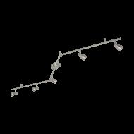 Bodové LED osvětlení, 6 x 3W, odstín nikl TIBERIO 1 97827