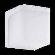 Venkovní nástěnné LED světlo, bílé JORBA 96255