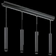 Závěsné osvětlení čtyři stínítka RAPARO 93925