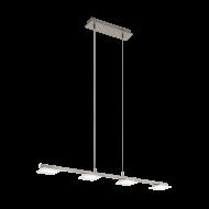 Závěsné LED svítidlo opatřené čtyřmi stínítky LANIENA 97085