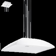 Bílé závěsné osvětlení ZAGAROLE