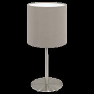 Pokojová lampička tmavošedá PASTERI 31595