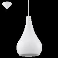 Závěsné svítidlo bílé NIBBIA