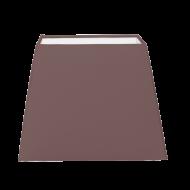 Stínítko textilní hnědé 1+1 VINTAGE 49435