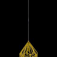 Závěsné svítidlo, zlaté CARLTON 49933