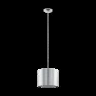Závěsné svítidlo - stříbrné SAGANTO 39351