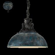 Vintage závěsné svítidlo GRANTHAM 1 49753