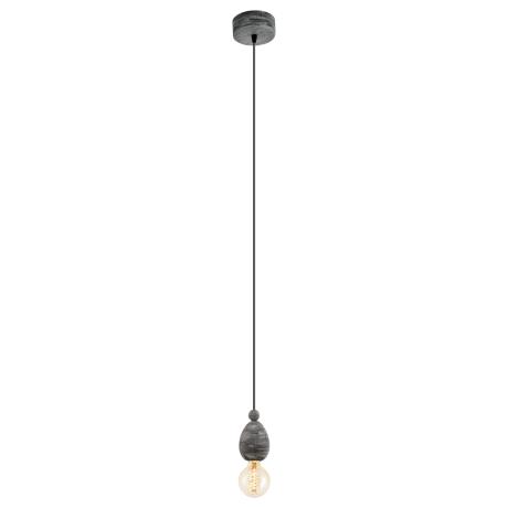 Závěsné osvětlení černá patina AVOLTRI 49378