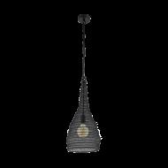 Drátěné závěsné osvětlení/černé COLTEN 49127