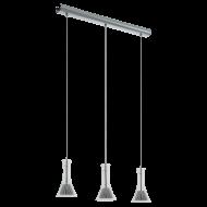 LED závěsné svítidlo se třemi stínítky MUSERO 1 96519