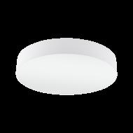 Stropní svítidlo s textilním stínítkem o průměru 57 cm, bílá/bílá PASTERI 97611