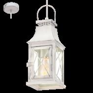 Závěsná lucerna na žárovku LISBURN 49222