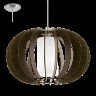 Závěsné osvětlení dřevěná kostra STELLATO 3 95592