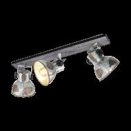 Stropní bodové osvětlení, 3 stínítka BARNSTAPLE 49652