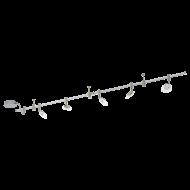 Stropní bodovka s rampou a spoty VILANOVA 1 94419
