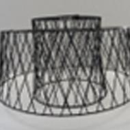 Závěsný LED lustr, černý ALLERBY 49996