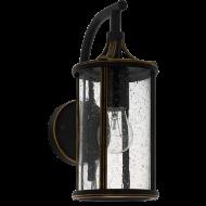 Venkovní nástěnná lucerna, černá APIMARE 96232