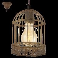 Závěsná lucerna na žárovku HARLING 49217