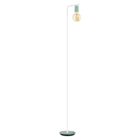 Stojací lampa v pastelově zeleném provedení ADRI-P 49121