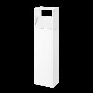 Venkovní sloupek bílý MONFERO 95113