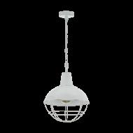 Závěsné svítidlo CANNINGTON 1 33028, barva: bílá-antik