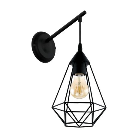 Nástěnné svítidlo TARBES 49081, černé