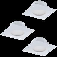 Vestavná bodovka bílá PINEDA 95801
