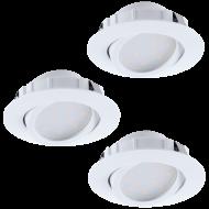Vestavná bodovka kruhová LED PINEDA 95851