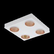 Čtvercové bodové LED svítidlo RONZANO 39377
