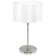 Pokojová lampička bílá MASERLO 31626