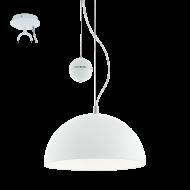 Závěsné osvětlení stropní bílé PACHECO 95429